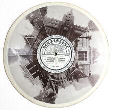 """EXPOSITION COLONIALE PARIS 1931 french soupledisc picture disc 10"""" 78rpm"""