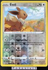 Carte Pokemon EVOLI 125/203 Reverse Epée et Bouclier 7 EB07 FR NEUF