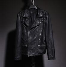 ALL SAINTS Catch Leather Biker Jacket Black Size S Small conroy cargo kushiro