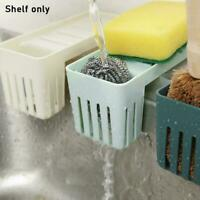 Kitchen Sink Faucet Sponge Soap Storage Organizer Cloth Rack Shelfs Holder T9V7