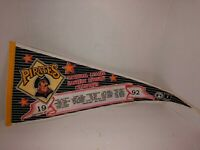 VINTAGE 1992 PITTSBURGH PIRATES NATIONAL LEAGUE EAST CHAMPIONS PENNANT MLB FS