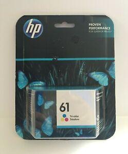 HP 61 Tri-Color Ink Cartridge Genuine, Envy 4501 4507 Officejet 2620 April 2019