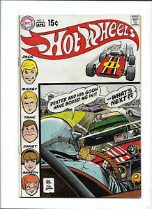 """HOT WHEELS #1 [1970 VG] """"WIPE-OUT AT LE MANS!""""    ALEX TOTH"""