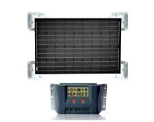 12V Solaranlage für Wohnmobil / Caravan | 100 Watt Solarmodul +Laderegler +Kabel