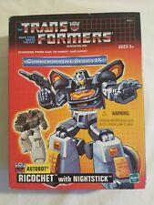 Commemorative TRANSFORMERS Autobot RICOCHET Nightstick Series IX TARGETMASTER