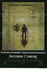 SOUTHERN COMFORT Movie POSTER 27x40 Ned Dowd Powers Boothe Keith Carradine Fred
