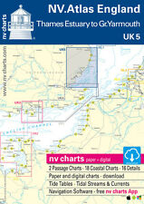 NV UK 5, England - Thames Estuary bis Great Yarmouth # Nordsee Englischer Kanal
