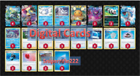 PTCGO Inteleon V Vmax Deck - 2021 Standard  Pokemon online tcg Digital card