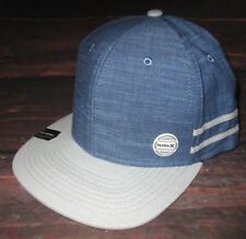 MENS HURLEY WORK PIN HAT SNAPBACK CAP ONE SIZE