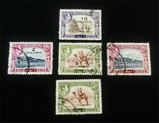 nystamps British Aden Stamp Used High Values J15y1856