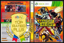 Anarchy Reigns Microsoft Xbox 360 X Box video Game collectable games lot 2013 x