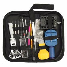 144Pcs Watch Repair Remover Tool  Adjustable Back Case Opener Spring Bar Set Kit