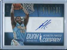 2012-13 Intrigue Kenneth Faried Rookie Autograph 23/49