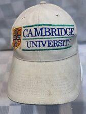 CAMBRIDGE University Adjustable Adult Baseball Ball Cap Hat