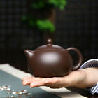 on big sales marked tea pot ball shaped real yixing zisha purple grit xishi pot