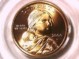 2000 P Sacagawea Dollar PCGS MS 65 3637258