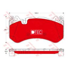 Bremsbelagsatz Scheibenbremse DTEC COTEC - TRW GDB1734DTE