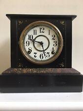 Antique EN Welch Iron Mantle Clock