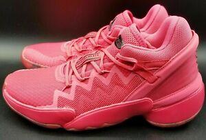 Adidas X Crayola D.O.N Issue 2 Basketball Shoes Pink FW8750 Boys NWT