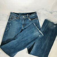 Lucky Brand Dungarees Women's Size 2/26 Sundown Jeans Distressed Boot Cut