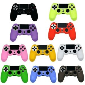 Soft Silicone Gamepad Controller Case Skin Grip Cover For PS4 Playstation 4 UK