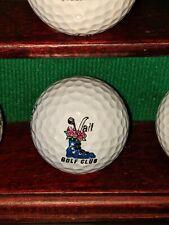Vail Golf Club Colorado Logo Golf Ball