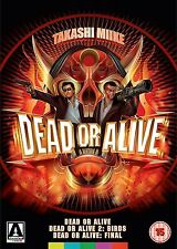DEAD OR ALIVE TRILOGY di Takashi Miike BOX 3 DVD in Giapponese NEW .cp