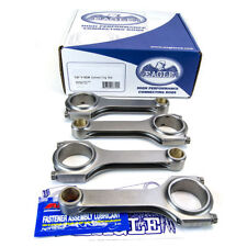 Eagle CRS5394A3D 4340 900HP H-Beam Connecting Rods Honda B18 B18A B20B B20Z