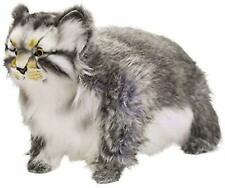 Life Size Standing Pallas Cat Stuffed Animals BH7077 HANSA Plush Doll New