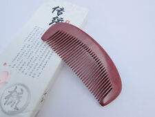 Nice 8-12 QiaoYaTou Natural Violet Wood Fine-Toothed Unisex Health Care Comb