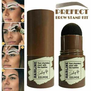 Eye Brow Stamp Shaping Kit Eyebrow Definer Stencils Shaper Grooming Makeup Set