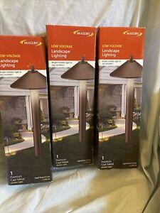 3 Malibu 10w Skyline Pathway Lights Pro Cl086Ab  8308-9103-01 Path Landscape