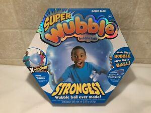 SUPER WUBBLE STRONGEST  Bubble Ball Boing Blue