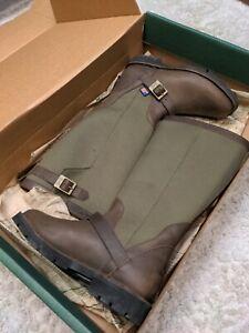 Danner Boots Men 7.5 San Angelo Snake Proof Boot 42751 EUC