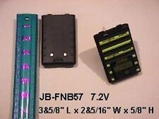 YAESU VERTEX FNB-V57, V64 -Two Way Radio 7.2V 1300mAh Ni-Mh Rechargeable Battery