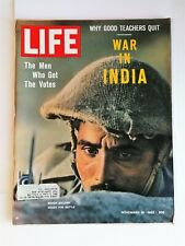 Life Magazine November 16, 1962 - War in India - Why Good Teachers Quit - Ads
