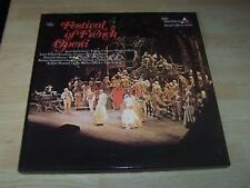 FESTIVAL OF FRENCH OPERA 3 LP box GOSD 674-6 nr mint