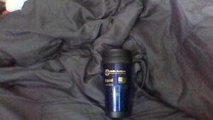 Travel Themos Coffee Mug Navy Blue