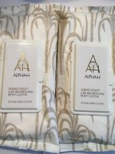 Alpha H Liquid Gold Resurfacing Body Wipes x 25 Dual Sided Wipes New & Sealed