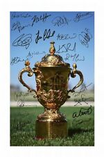 NEW ZEALAND ALL BLACKS 2011 WORLD CUP AUTOGRAPHED SIGNED A4 PP POSTER PHOTO 1