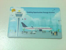 Credit Card USB 2.0 Memory Stick Flash Drive Thumb Drive 2GB Changi Airport
