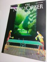 The New Yorker Magazine 7/29/2013 Zimmerman verdict/Mentally Fit Near Mint issue