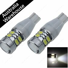 Pair White T15 921 Car 8 5630 SMD + 1 CREE LED Wedge Side Light Bulb Roof Lamp
