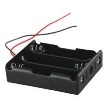 Plastic Battery Storage Case Box Holder For 3x 18650 Black Mit 3 Standard 12V @
