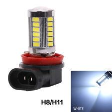2 Bombillas H11, 33 Led´s, efecto xenon, 12V, 6000k, desde España.