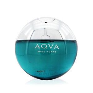 NEW Bvlgari Aqva Pour Homme EDT Spray 1.7oz Mens Men's Perfume