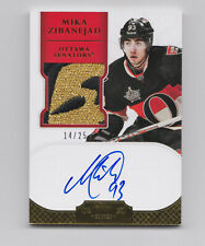 2011-12 Dominion Auto Rookie RC Patch GOLD #194 Mika Zibanejad 14/25 RARE