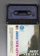 DIRE STRAITS first album 1978 YUGOSLAVIAN CASSETTE black case/blue label