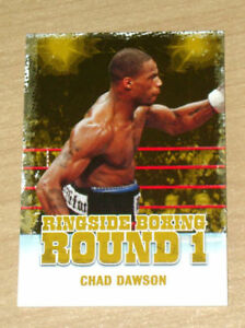 2010 Ringside Boxing GOLD parallel Chad Dawson /9