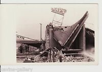 California CA EARTHQUAKE RPPC Real Photo Ray's Diner DANCE 1933 POSTCARD